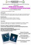 WORKSHOP CREATIVITA E SPERIMENTAZIONE
