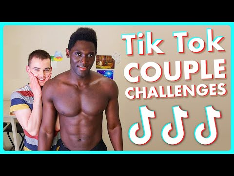 Trying Viral Tiktok Couple Challenges | Gay Couple Edition