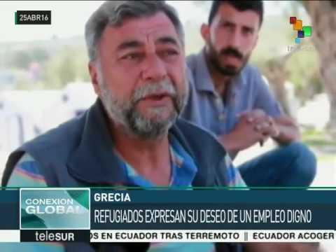 Grécia: refugiados em Lesbos vivem na incertidão