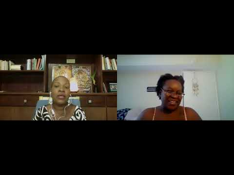 Dr. De' Host and Owner Food Alchemy Network with my special  guest Prandhara Prem (Renee Adolphe)