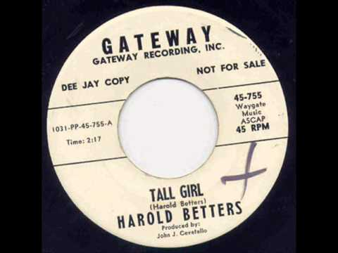 Harold Betters - Tall Girl.