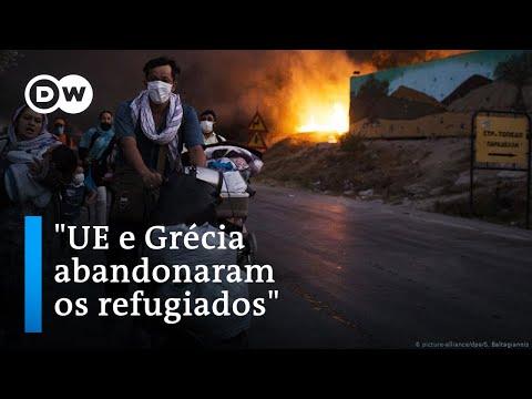 """""""UE e Grécia abandonaram os refugiados"""""""