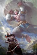 Hanumaan and Bharat, Tan Man