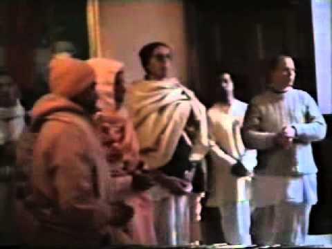 BV Narayan Maharaja at Bhaktivedanta Manor 1996 1 of 3