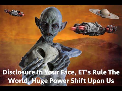 Disclosure in your face, ET's Rule The World, Huge Power Shift Upon Us & C60 Info, Ken Swartz