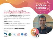 Experiencia Brasil Datos Abiertos y Repositorios Datos Abiertos