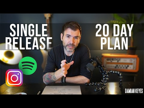 HOW TO PROMOTE YOUR SINGLE IN 2020 (20 DAY PLAN)