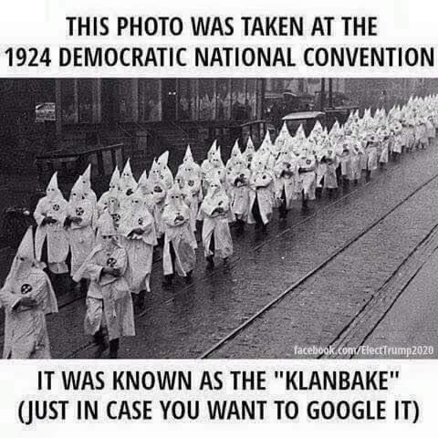 Democratic National Convention, aka Klanbake