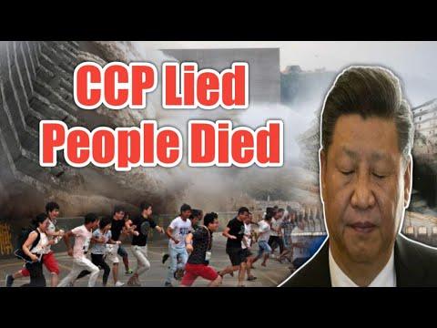 China Devastating Flood : Chinese Communist Party Hiding Data about Floods   Three gorges dam