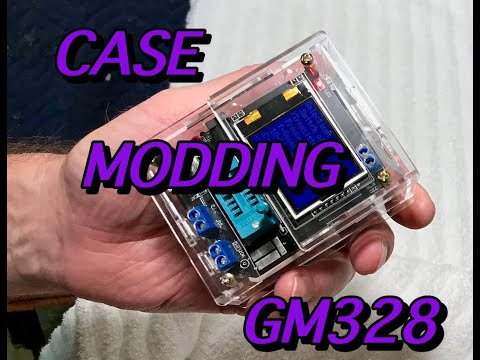 MODDING THE CASE FOR THE GM328 COMPONENT TESTER DAVE's VINTAGE APPLE TECH
