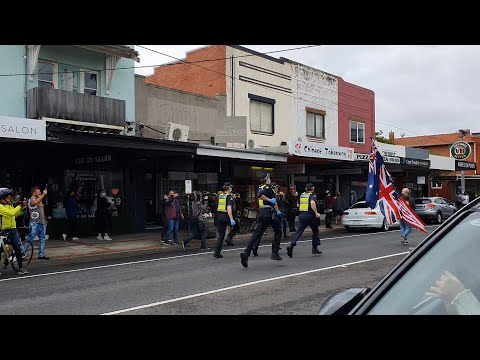 Victorian Police state wont allow Barber Shop and Salon to Open
