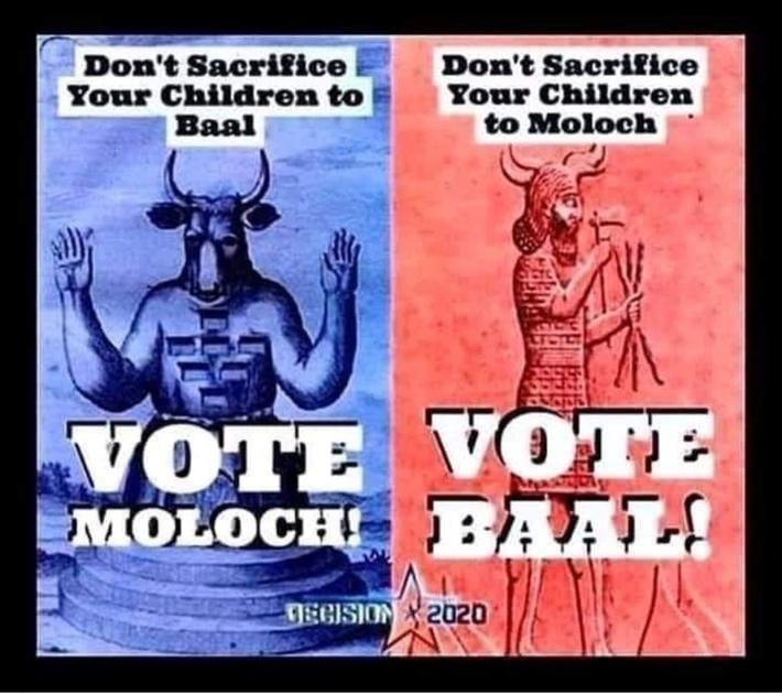 The Democratic vs The Republican Talmudic Communist Kabalist Parties