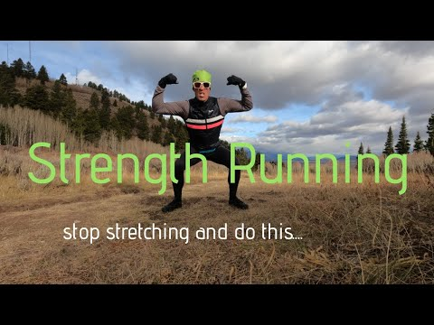 STOP STRETCHING so much and do STRENGTH RUNNING. (cadence + foot strike + Salomon S Lab Cross)