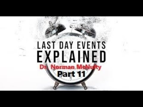 11 Q&A Session - Last Day Events Explained Dr Norman McNulty