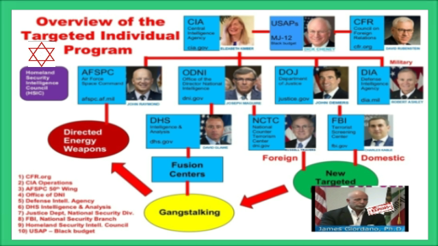 Overview Jews Behind Targeted Individual Program