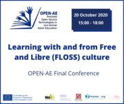 Learning with and from Free and Libre (FLOSS) culture