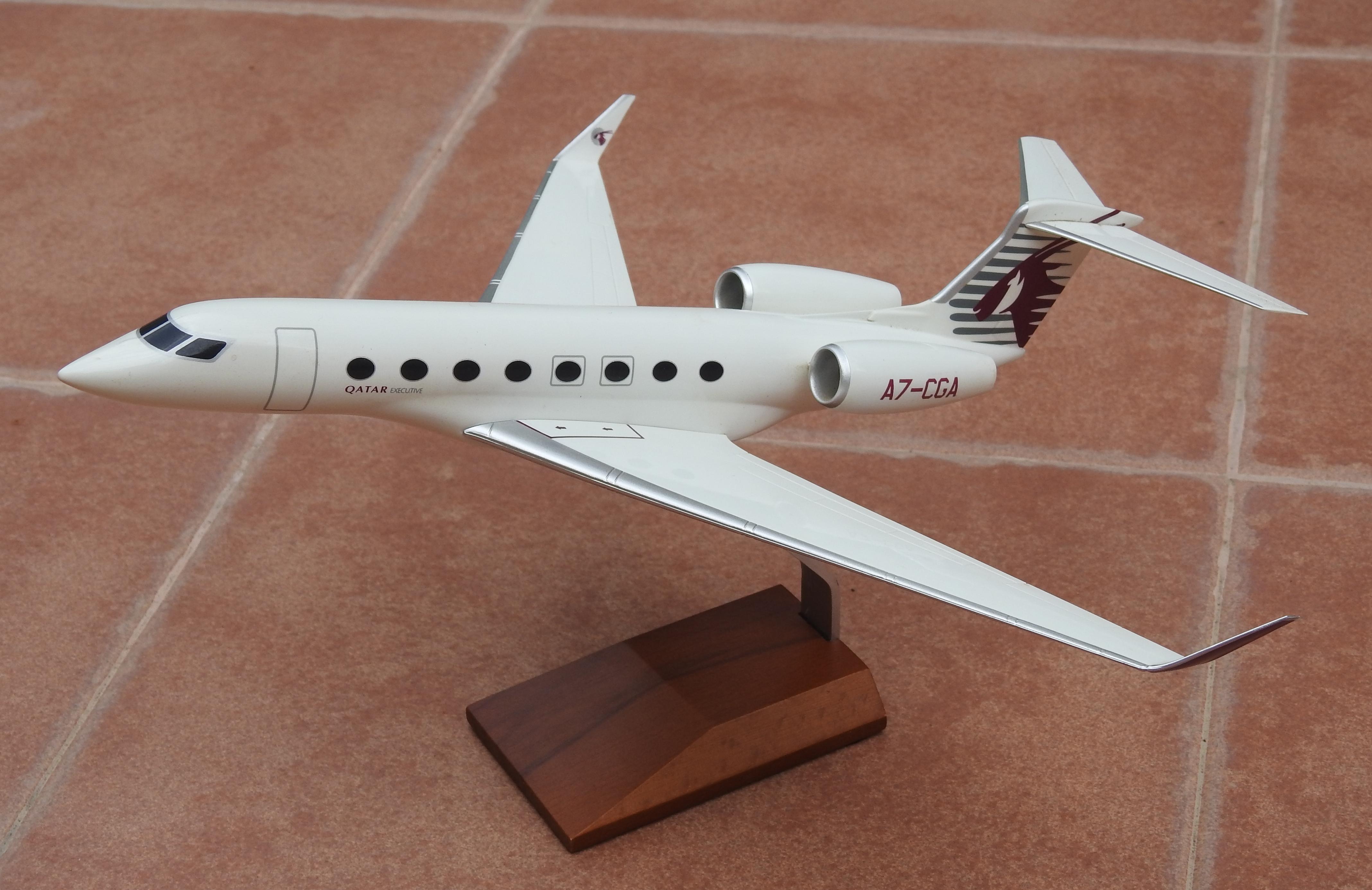 Pacmin 1:100 Qatar Executive Gulfstream G650