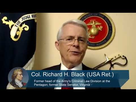 Former JAG Officer Richard Black Warns of a Potential Military Coup
