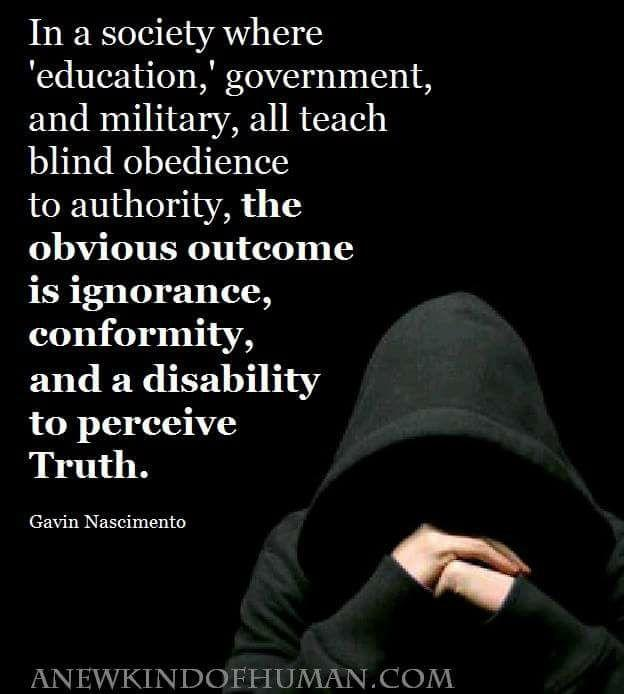 Government Education - Reprogramming the brain for unconditional servitud