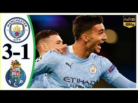 ฟูลแมตช์+ไฮไลท์ Manchester City 3-1 Porto