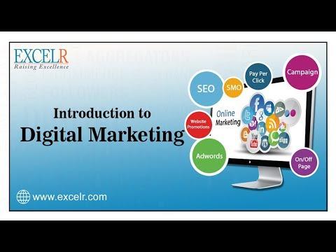 """Digital Marketing"" : Introduction To Digital Marketing  What is Digital Marketing Tutorial - ExcelR"