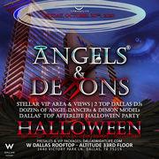 Angels & Demons W Dallas Halloween Friday