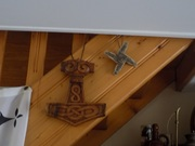 Thor's hammer and Brighidh's cross