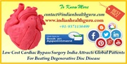 Low cost cardiac bypass surgery India attracts global patients for beating degenerative disc disease