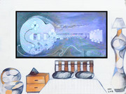 2018-Giant Guitar Painting_16inx12in