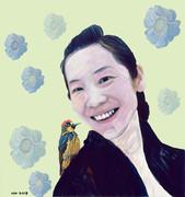 2018-Portrait of Hsiao-Fen Oilve Chang_15inx16in