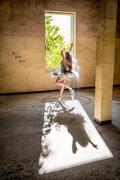 Ballerina with flour 4