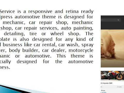 Car Dealer Wordpress Theme - Wp Web Themes