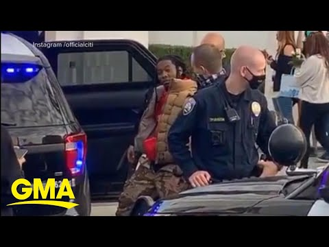 Rapper Offset detained by police | GMA