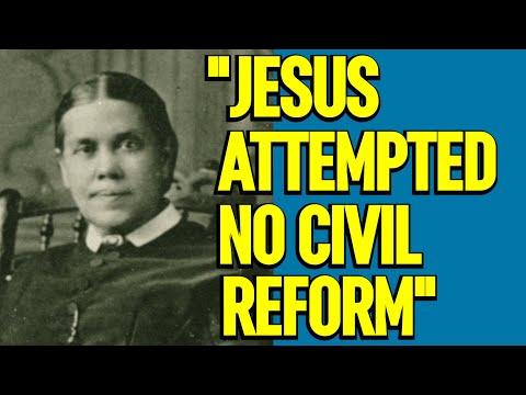 """""""the Saviour attempted no civil reforms"""" Ellen White, page 509, Desire of Ages"""