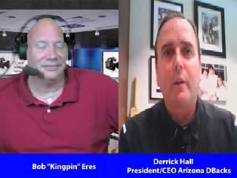 Bob Eres Interview with Derrick Hall AZ Diamondbacks