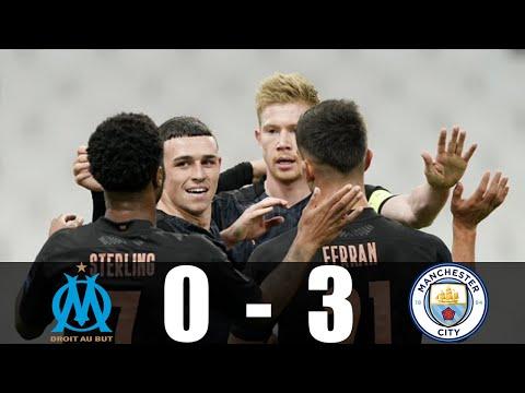 ฟูลแมตช์+ไฮไลท์ Marseille 0-3 Manchester City