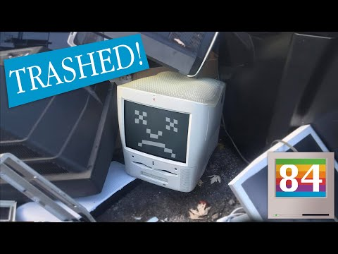 eWaste Rescue: A Rare Apple Power Macintosh G3 All-In-One (Molar Mac AIO)