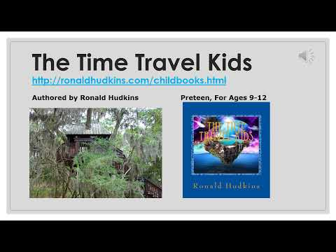 The Time Travel Kids - Story, Adventure, Easy Read