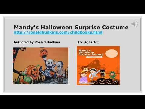 Mandy's Halloween Surprise Costume - Children's Book Ages 3-5