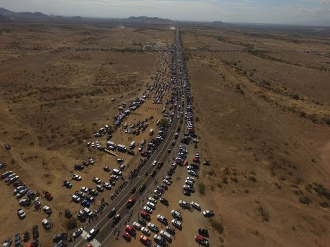 Patriots of Arizona - 96 mile long Trump Train / Staging Rally - 2020/10/25