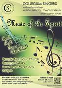 Collegium Singers Concert – Music of the Spirit