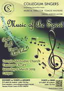 Collegium Singers Concert – Music of the Spirit