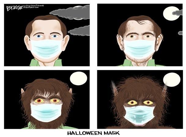 halloween-face-mask