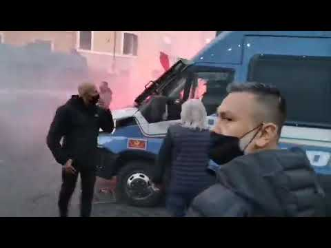 Riots and Protests Continues in Rome, Italy
