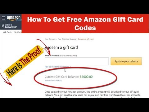 Amazon Gift Card | How To Get Free Amazon Gift card Code (learn With Proof)