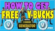 Fortnite Hack Free V Bucks Unlimited Code Generator 2019