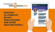 Boostez la visibilité de vos publications sur votre page pro Eiffel !