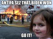 Biden won