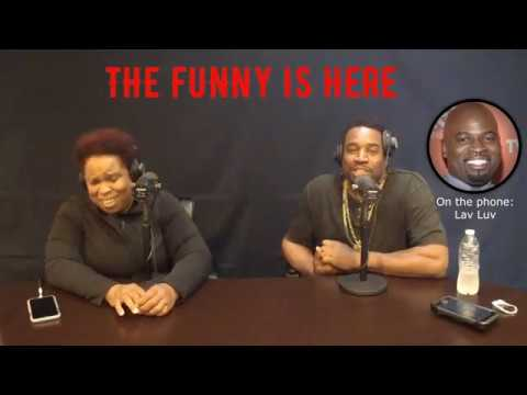 The Funny is Here w/Dominique Ep 9 Corey Holcomb & Lav Luv