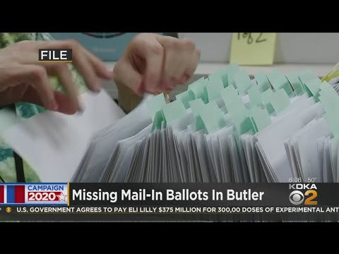 Missing Mail-In Ballots In Butler County